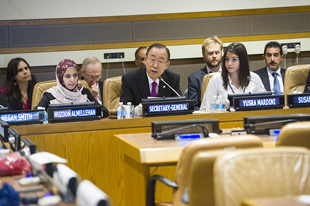 Secretary-General Ban Ki-moon attends High-level Civil Society Event of the UN Summit for Refugees and Migrants